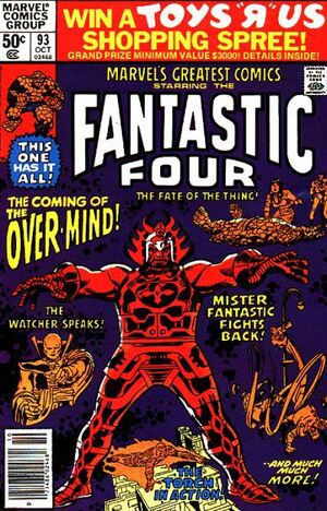 Marvel's Greatest Comics : Fantastic Four #93