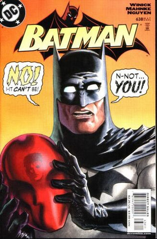 Batman Vol.1 #638 (Key: Jason Todd revealed as Red Hood)