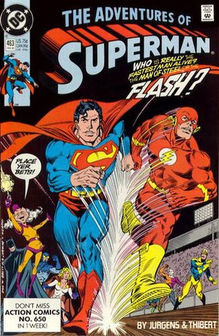 Adventures Of Superman Vol.1 #463