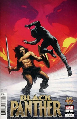 Black Panther (Vol.6 2019) #7 - Conan Variant Cover