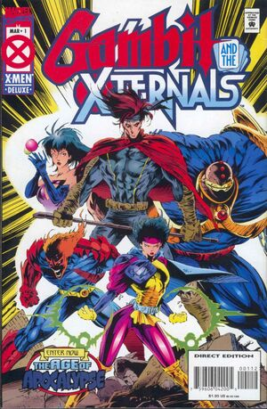 Gambit And The Xternals #1