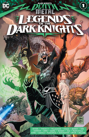 Dark Night's Death Metal : Legends of the Dark Knights #1