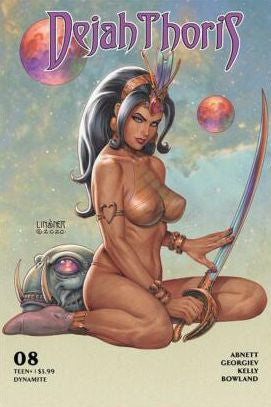 Dejah Thoris #8 - Linsner Cover