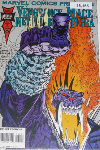 Marvel Comics Presents #162 : Tigra, Vengeance, New Warriors, Mace - Direct Edition