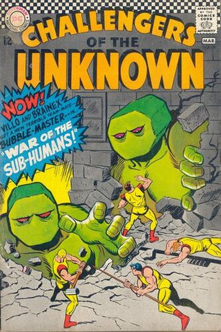 Challengers Of The Unknown Vol.1 #54