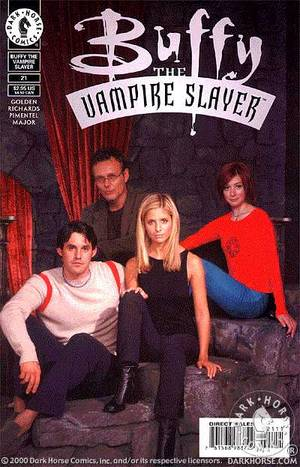 Buffy The Vampire Slayer Vol.1 #21 - Photo Cover