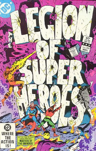 Legion Of Super-Heroes #293