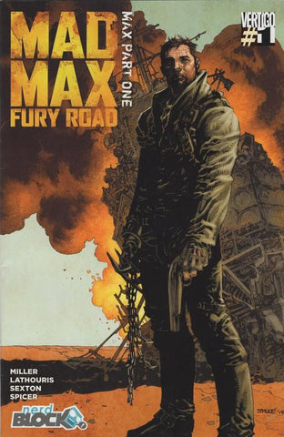 Mad Max: Fury Road #1 - Nerd Block Variant Cover