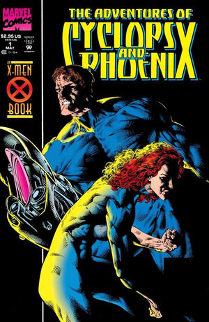 The Adventures Of Cyclops & Phoenix - Set #1. #2, #3