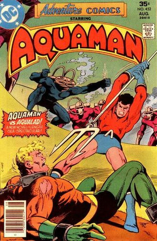 Adventure Comics #452 - Starring Aquaman