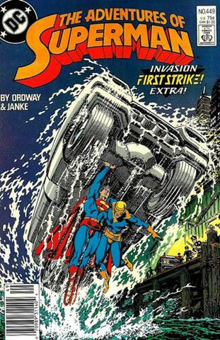 Adventures Of Superman Vol.1 #449