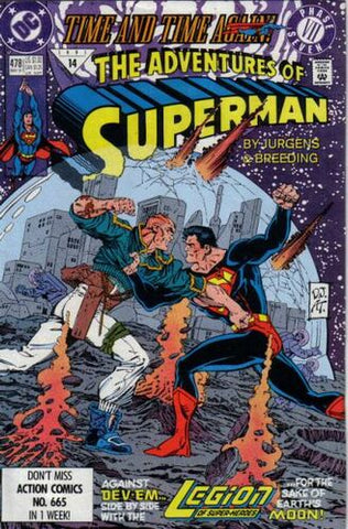 Adventures Of Superman Vol.1 #478