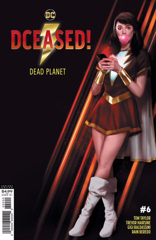 DCeased : Dead Planet #6 - Mary Marvel Cover
