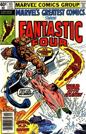 Marvel's Greatest Comics : Fantastic Four #83