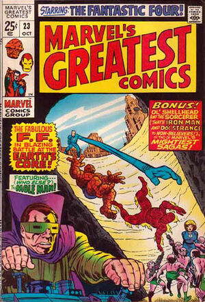 Marvel's Greatest Comics : Fantastic Four #23