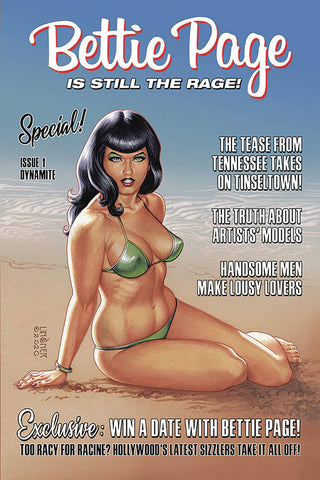 Bettie Page Special! #1 - Linsner Variant Cover