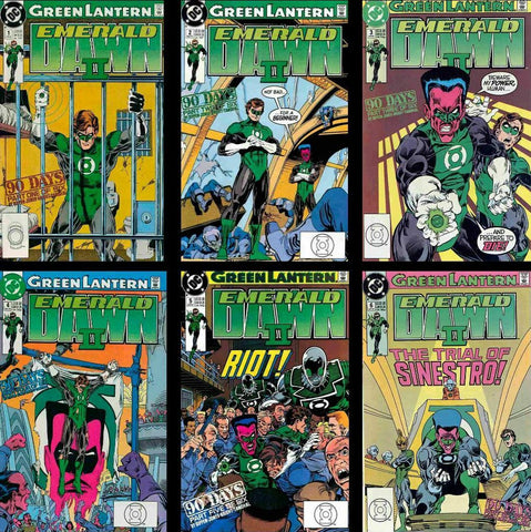 Green Lantern: Emerald Dawn II - SET #1-#6