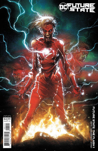 Future State: The Flash #1 - Karre Andrews Card Stock Variant
