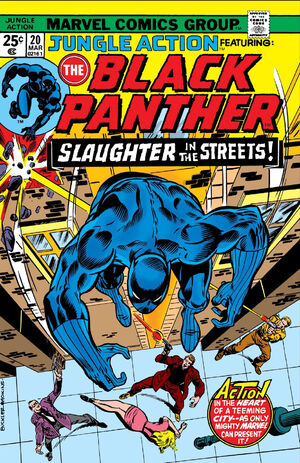 Jungle Action Vol.2 #20 - ft. The Black Panther