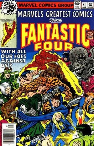 Marvel's Greatest Comics : Fantastic Four #81
