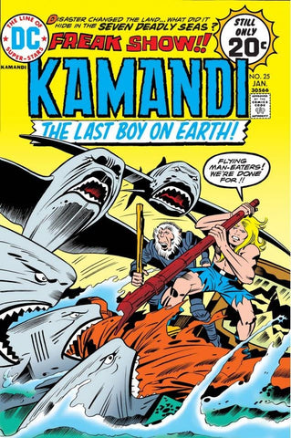 Kamandi: The Last Boy On Earth #25
