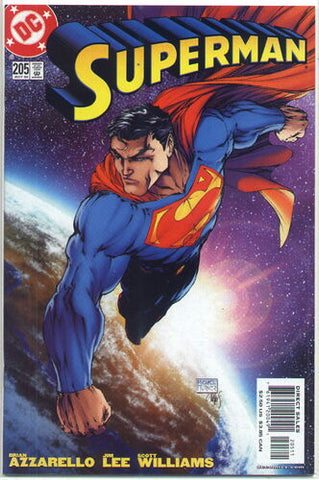 Superman Vol.2 #205 - Michael Turner cover