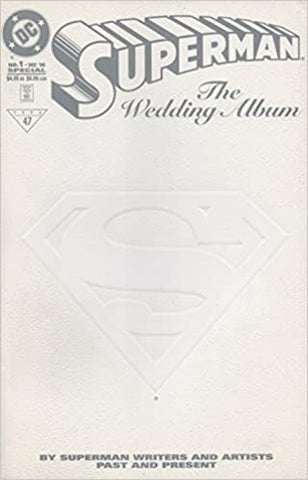 Superman : The Wedding Album #1 - Embossed White Cover