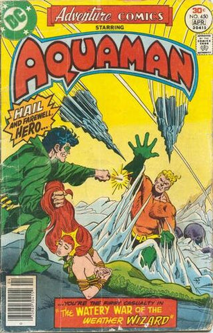 Adventure Comics #450 - Starring Aquaman