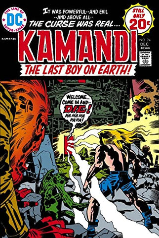 Kamandi: The Last Boy On Earth #24 (damaged)
