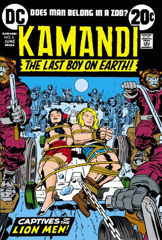 Kamandi: The Last Boy On Earth #6