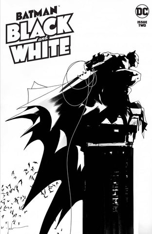 Batman: Black And White #2 - Cardstock Cover