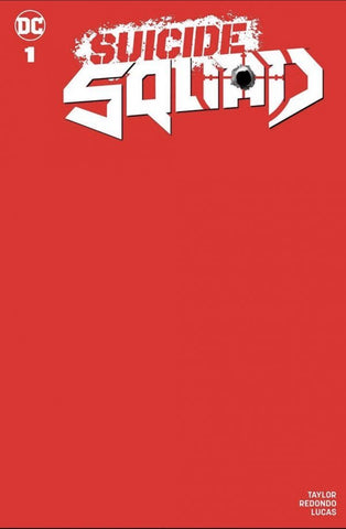Suicide Squad vol.5 #1 - Red Blank Sketch Variant