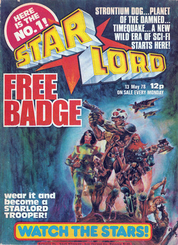 Star Lord #1 (British Comic)