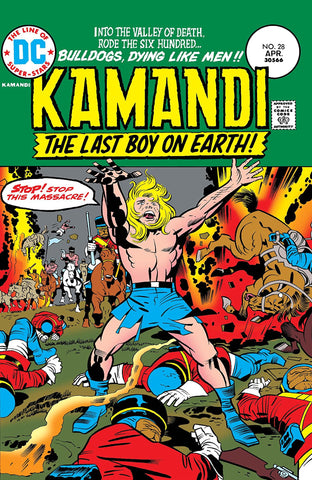 Kamandi: The Last Boy On Earth #28