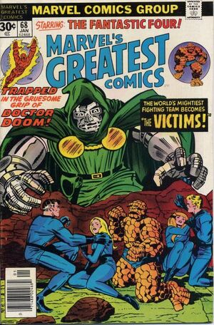 Marvel's Greatest Comics : Fantastic Four #68
