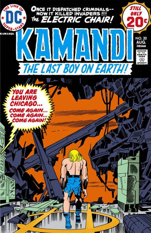 Kamandi: The Last Boy On Earth #20