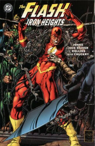 The Flash: Iron Heights TPB (Key: 1st App. of Murmur, 1st App. Iron Heights)