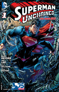 Superman Unchained #1 - Signed by Actor Henry Cavill, Amy Adams, Ezra Miller and Gal Gadot