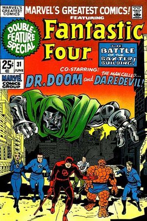 Marvel's Greatest Comics : Fantastic Four #31