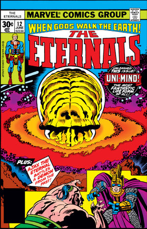 The Eternals Vol.1 #12 (Key: 1st Appearance of Uni-Mind)