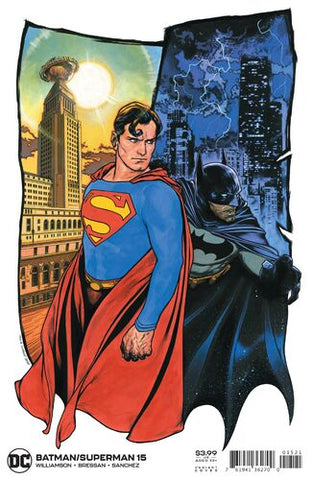 Batman/Superman Vol.2 #15 - Travis Charest Cover