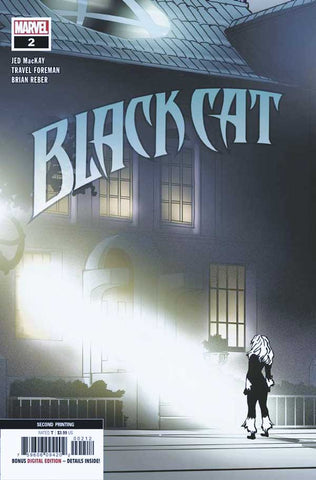 Black Cat #2 - Exorcist Homage 2nd Print Cover