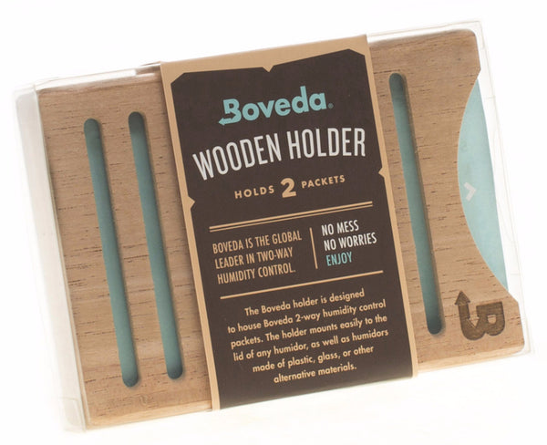 Boveda Wood Holder for Humidors - 2 Pack Stacked Holder (2x 60 gram)