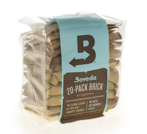 mycigarorder.com Boveda 72% RH 2-way Humidity Control, Large 60 gram, Multipack of 20 Brick uk
