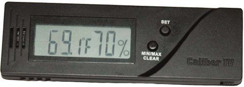 mycigarorder.com Caliber IV - Digital Hygrometer and Thermometer by Western Humidor