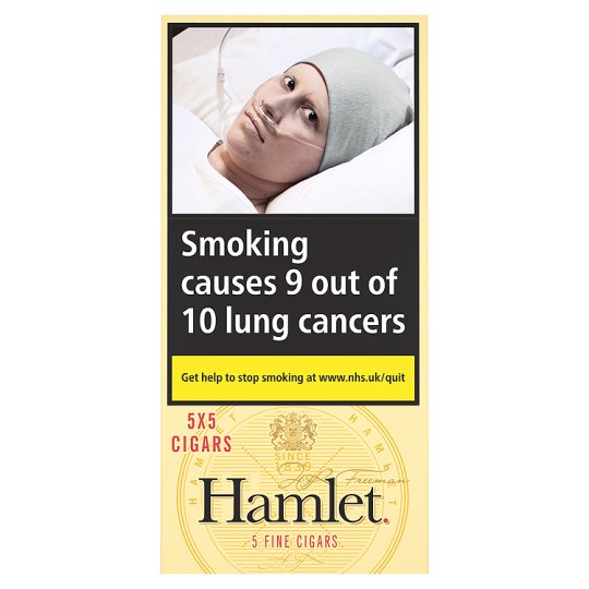 Hamlet Fine Cigars - Panatellas - 5 Pack