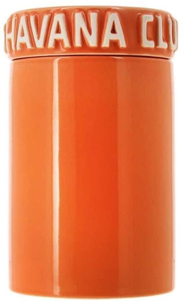 mycigarorder.com Havana Club Cigar Collection – Tinaja Jar Humidor - Orange