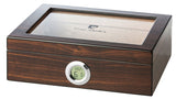 mycigarorder.com Pierre Cardin 20 Cigar Humidor Gift Set - with Ashtray and Cigar Cutter - PC-17