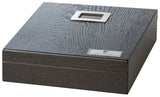 Pierre Cardin 10 Cigar Travel Humidor - Black - PC-15