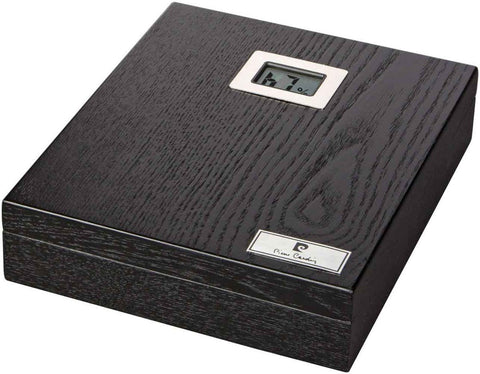 mycigarorder.com Pierre Cardin 10 Cigar Travel Humidor - Black - PC-15
